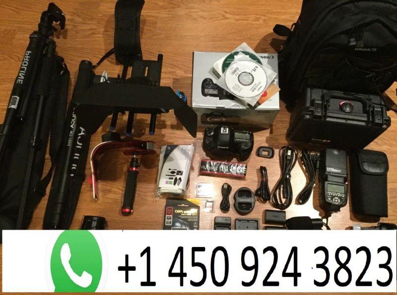 Canon EOS 5d Mark IV 30.4 Mp Digital SLR Kamera Mit / 3Lens W / Matt B-1