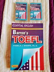 Carte nouă Barron' s TOEFL de Pamela J Sharpe PhD.