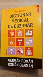 Carte nouă Dicționar medical german-român și român-german