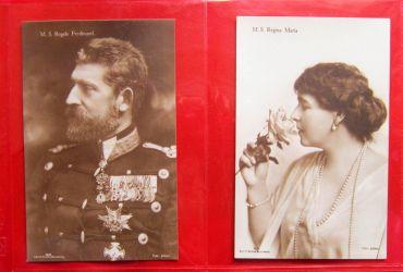 Carti postale: Regele Ferdinand si Regina Maria