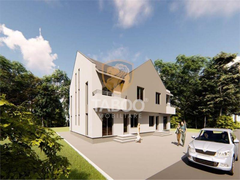Casa cu 3 camere decomandate de vanzare in zona Calea Cisnadiei-1