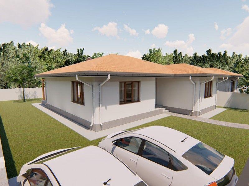 Casa de vanzare, 3 camere   Breazu -9