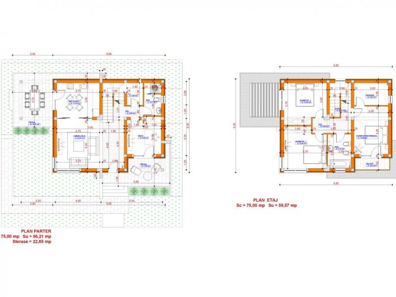 Casa de vanzare, 4 camere   Galata -5
