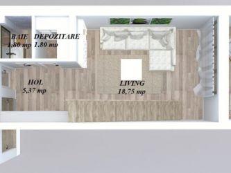 Casa nou de vanzare, 3 camere   Popas Pacurari