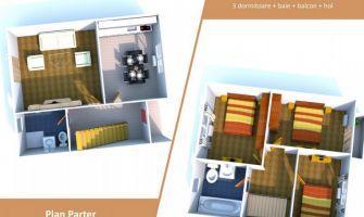 Casa nou de vanzare, 4 camere   Valea Adanca