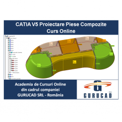 CATIA V5 Proiectare Piese Compozite Curs Online