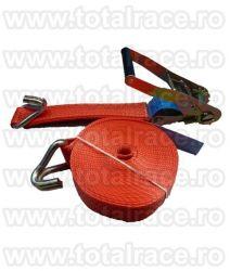 Chinga textila ancorare pentru tir, pentru marfa  lungime 12 metri