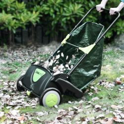 Colector frunze si iarba ABGG-3301, 110 x 68 x 77 cm, 100 L, otel/PVC
