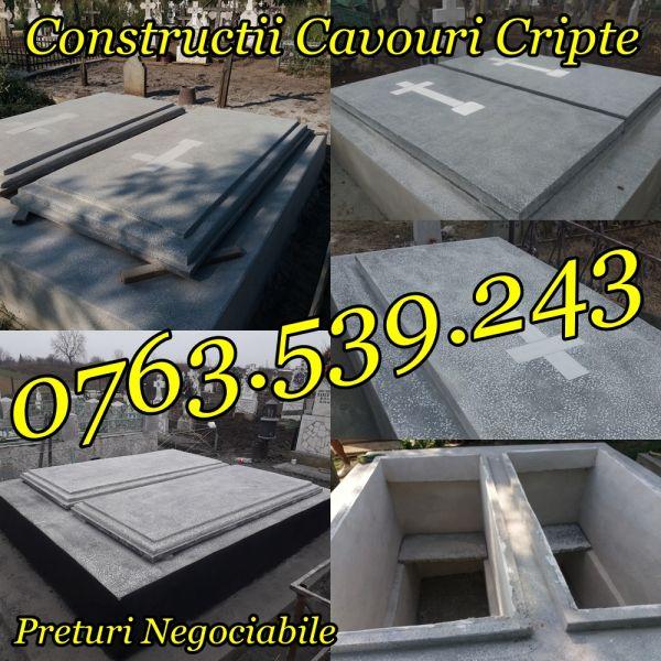 Constructii Cavouri Cripte Borduri Cimitir Placari Lucrari Funerare -2
