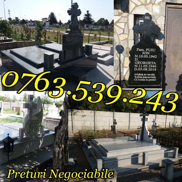 Constructii Cavouri Cripte Borduri Cimitir Placari Lucrari Funerare -3
