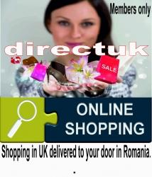 Cumparaturi din Anglia, livrate direct la usa ta, oriunde in Romania