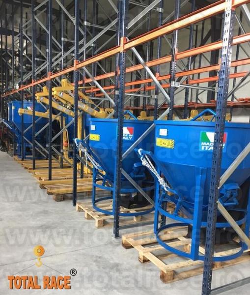 Cupe de beton productie Italia Total Race-5