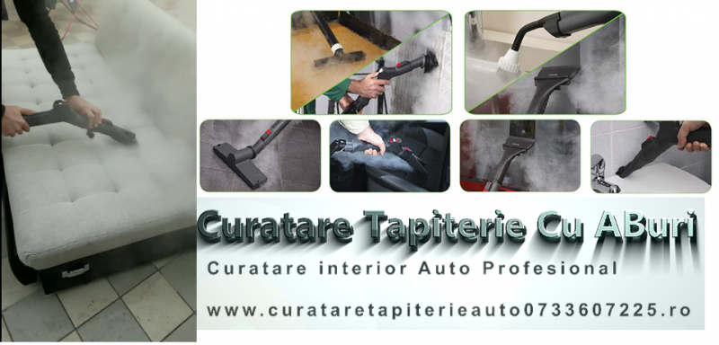 curatare tapiterie cu aburi,curatare tapiterie auto cu aburi-1