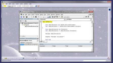 Curs Online: Programarea macro-urilor pentru CATIA V5