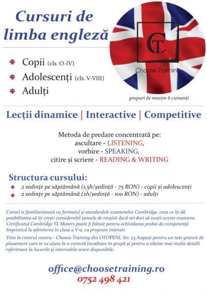 Cursuri de limba engleza, java, excel nivel 1 si 2, operare PC-3
