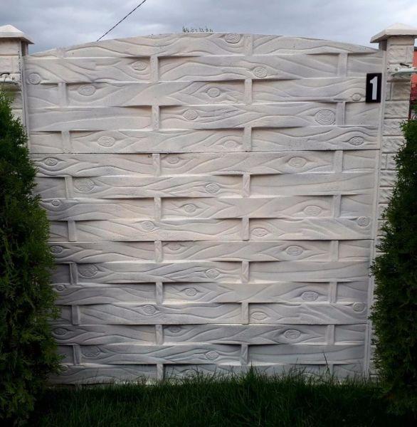 CURTE DIN BETON , lacre de gard / gard beton-2