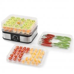 Deshidrator-uscator alimente, fructe si legume AAGK-7604 cu 5 tavi