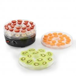 Deshidrator-uscator alimente, fructe si legume cu 4 tavi