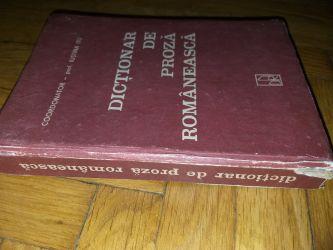 Dictionar de proza romaneasca - Iustina Itu ed. a III-a,1993