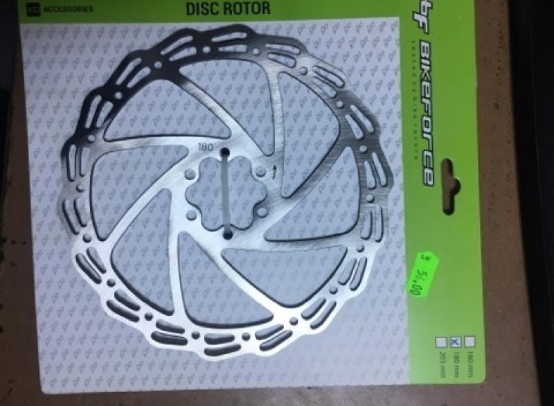 Discuri frana BikeForce 160mm + 180 mm-1