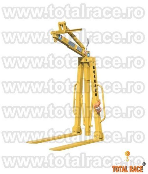 Dispozitiv ridicare cu furci pentru macara livrare din stoc-3