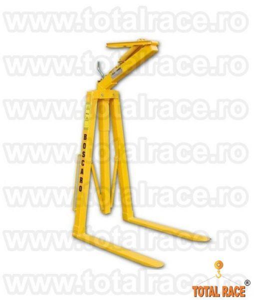 Dispozitiv ridicare cu furci pentru macara livrare din stoc-4