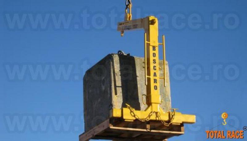 Dispozitiv ridicare cu furci pentru macara stoc Bucuresti-1