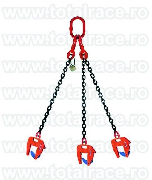 Dispozitive de ridicare din lant cu clesti pentru tuburi de beton-2