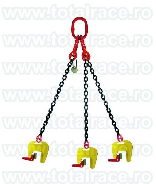 Dispozitive de ridicare din lant cu clesti pentru tuburi de beton-4