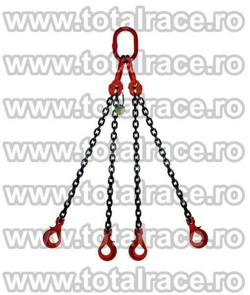 Echipament de ridicare din lanturi cu 4 brate -1