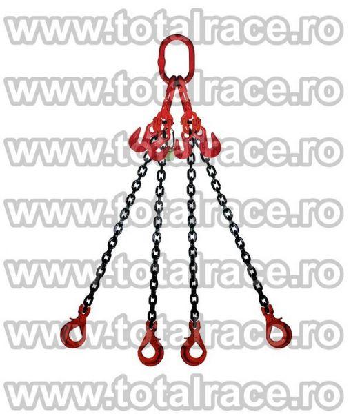 Echipament de ridicare din lanturi cu 4 brate -2