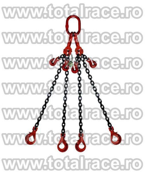 Echipament de ridicare din lanturi cu 4 brate -3