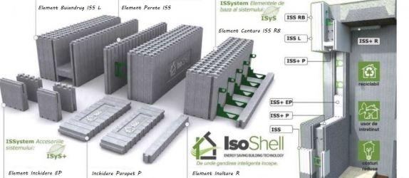 Elemente IsoShell constructii cu eficienta energetica A Plus