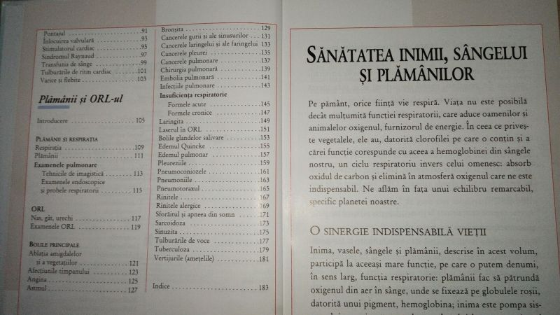Enciclopedia medicala a familiei, vl.V,Sanatatea inimii,sangelui plama-3