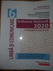 Evaluarea Națională 2020 la finaluli a VI-a. Limbă comunicare