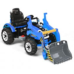 Excavator electric pentru copii Kinderauto BJS328A 2x45W 12V