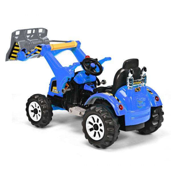 Excavator electric pentru copii Kinderauto BJS328A 2x45W 12V-7