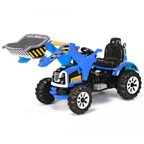 Excavator electric pentru copii Kinderauto BJS328A 2x45W 12V-8