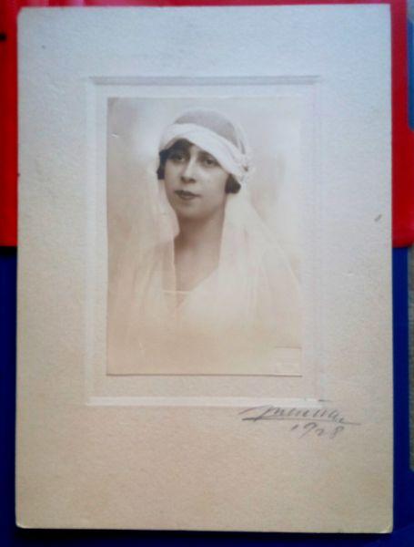 Fotografie Mireasa, Atelier Julietta, 1928-1