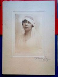 Fotografie Mireasa, Atelier Julietta, 1928