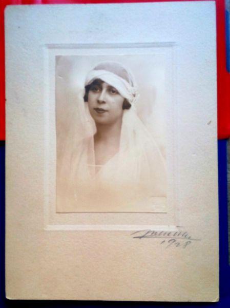 Fotografie Mireasa, Atelier Julietta, 1928-2