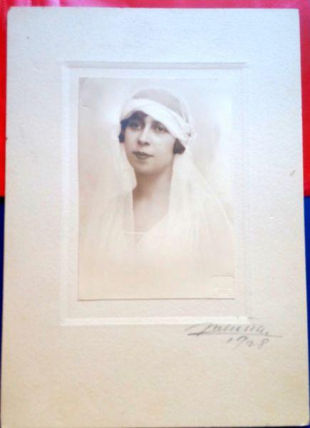 Fotografie Mireasa, Atelier Julietta, 1928-3