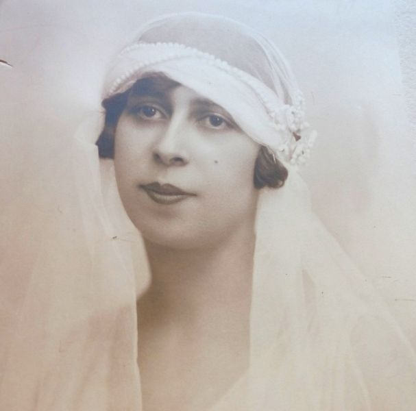 Fotografie Mireasa, Atelier Julietta, 1928-5