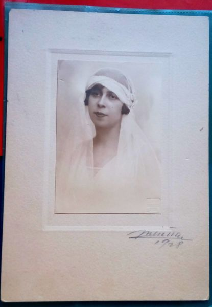 Fotografie Mireasa, Atelier Julietta, 1928-7