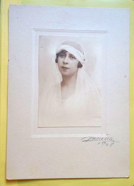 Fotografie Mireasa, Atelier Julietta, 1928-8