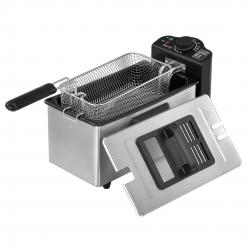 Friteuza AAOF-7501, 40 x 23 x 23 cm, 2000W, 230V, 190°C, 3 litri, otel