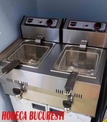 Friteuza electrica 2x13 Litri cu robineti de banc