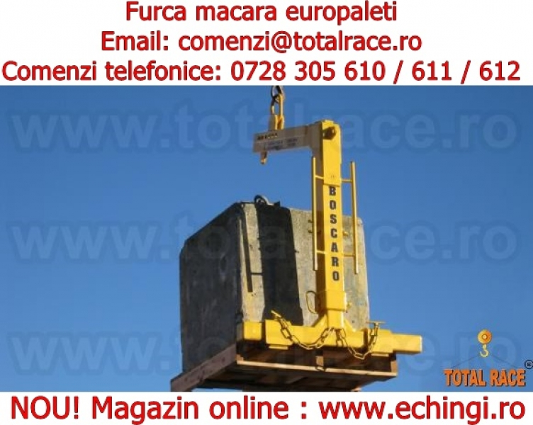 Furca macara paleti model MBA Total Race-1