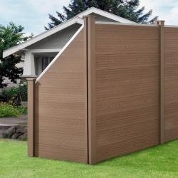 Gard AAWP-99X3 Model 1, 180 x 96 cm, lemn/plastic, maro