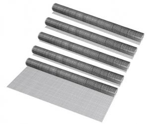 Gard plasa de sarma 100cm x 5m - culoare : argintiu ,gri